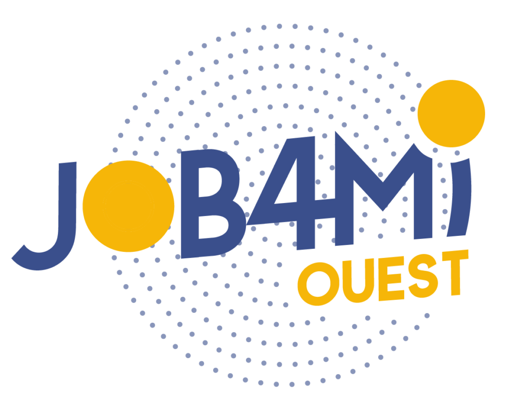 Logo job4mi bleu et jaune_Plan de travail 1